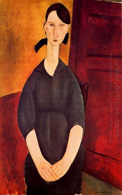 portrait of paulette jourdain 1919