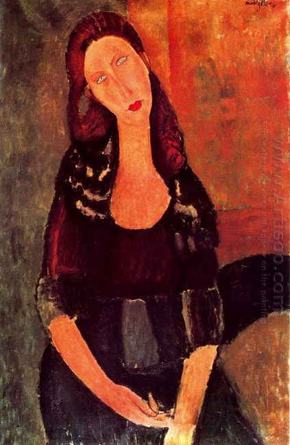 seated jeanne hebuterne 1918