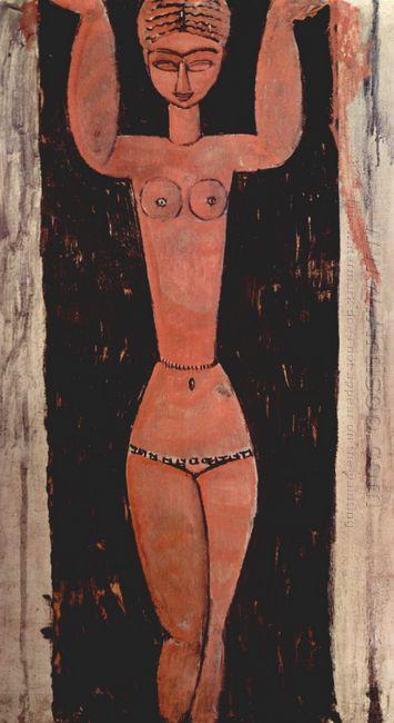 standing caryatid 1913