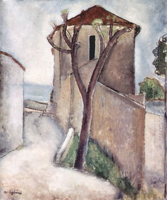 tree and house 1919