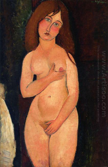 venus standing nude 1917
