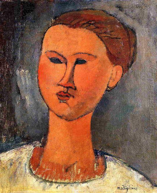 woman s head 1915