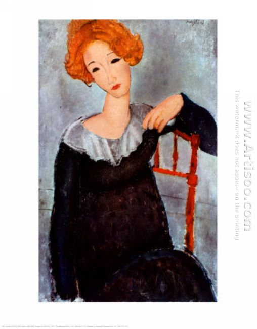 women with red hair 1917