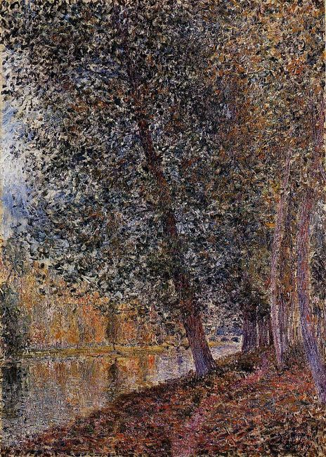 banks of the loing autumn 1880
