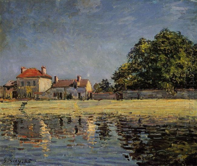 banks of the loing saint mammes 1885
