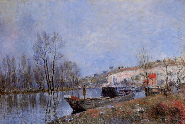 banks of the loing towards moret 1883