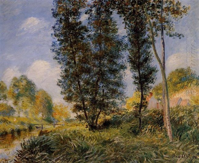 banks of the orvanne 1890