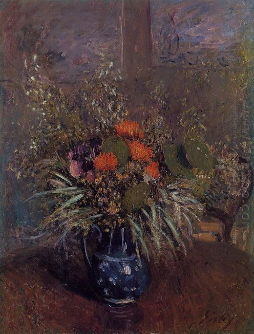 bouquet of flowers 1875
