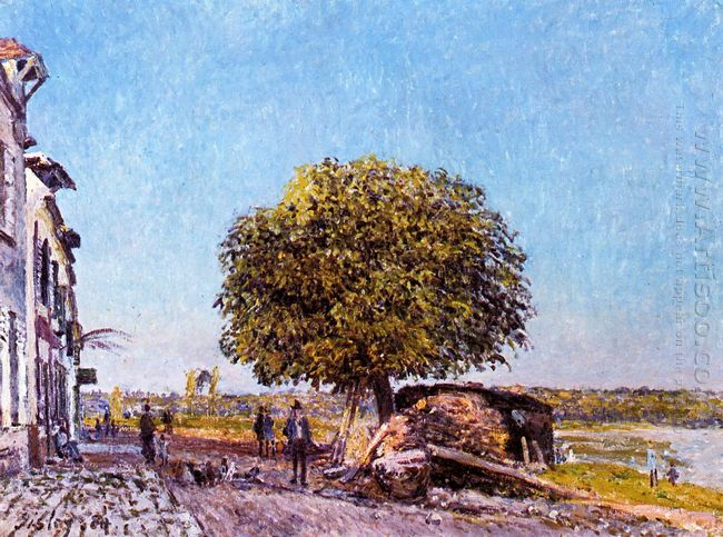 chestnut tree at saint mammes 1880
