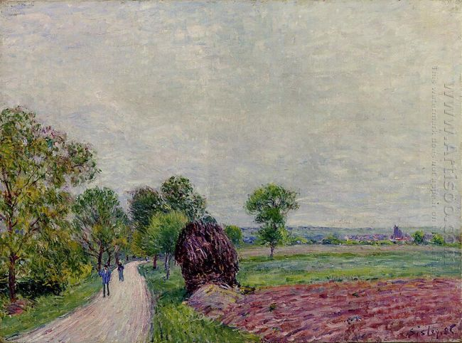 countryside near moret 1885
