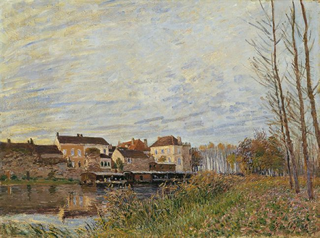 evening in moret end of october 1888