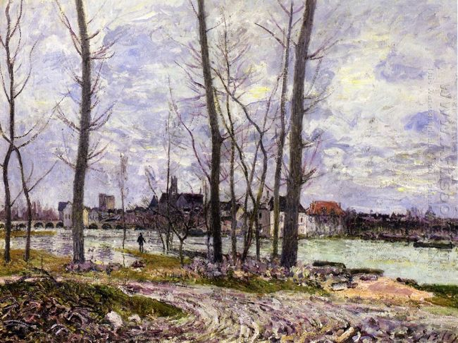 flood at moret sur loing 1888