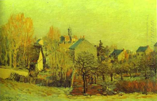 frost in louveciennes 1873