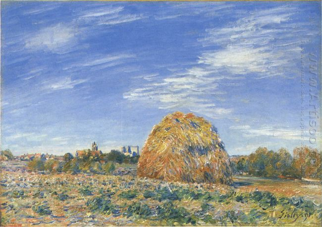 haystacks in moret in october 1890