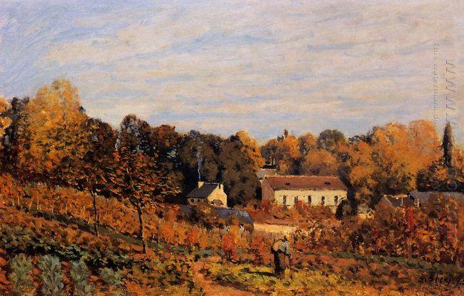 kitchen garden at louveciennes 1873