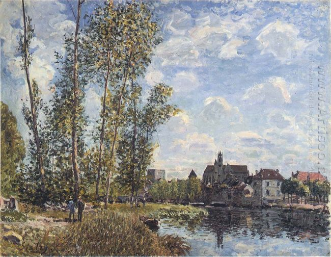 may afternoon on the loing 1888