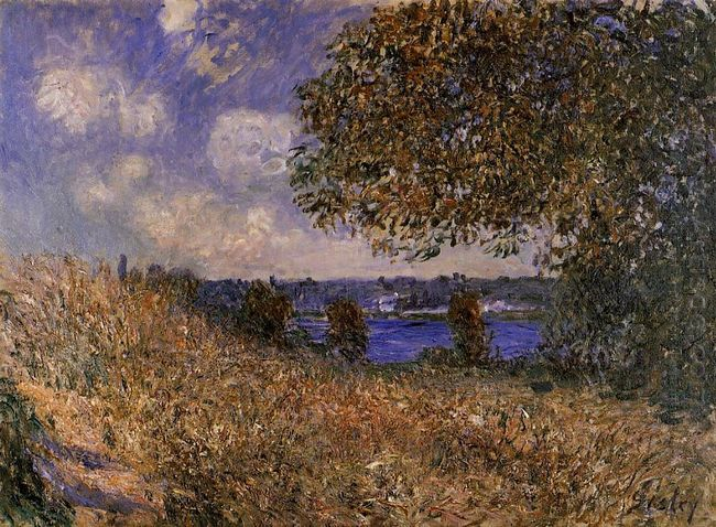 near the bank of the seine at by 1882