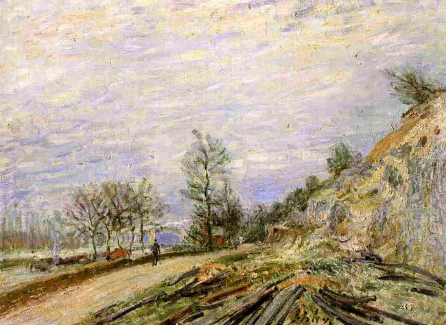 on the road from moret 1882