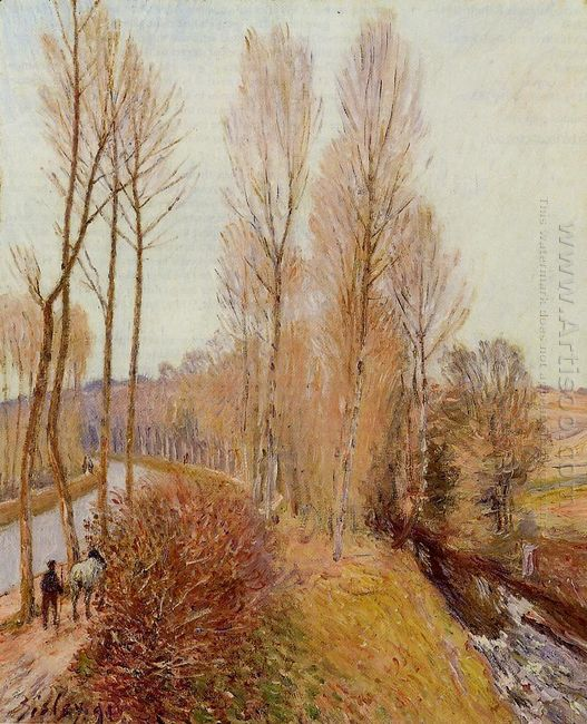 path along the loing canal 1891