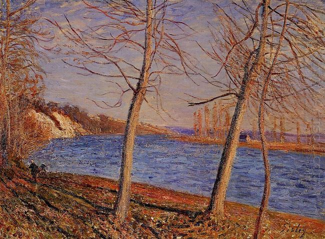 riverbank at veneux 1881
