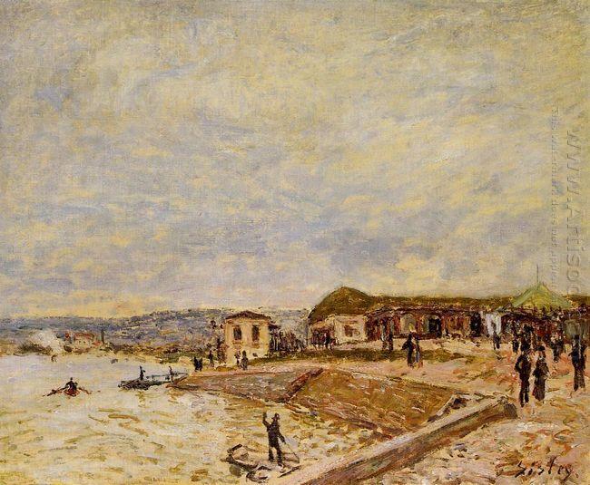 seine at daybreak 1878
