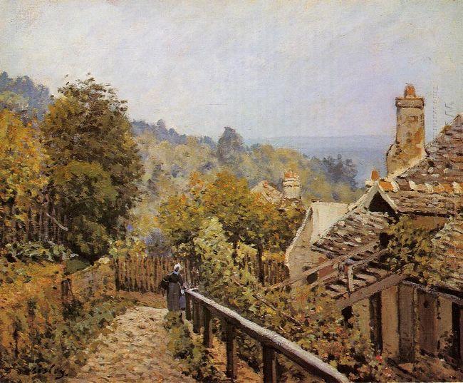 sentier de la mi cote louveciennes 1873
