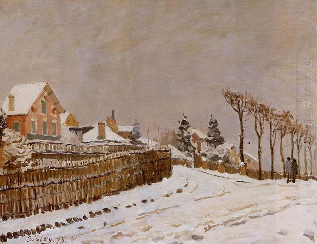 snow at louveciennes 1873
