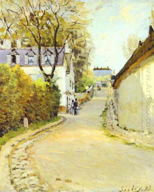 street in ville d avray 1873
