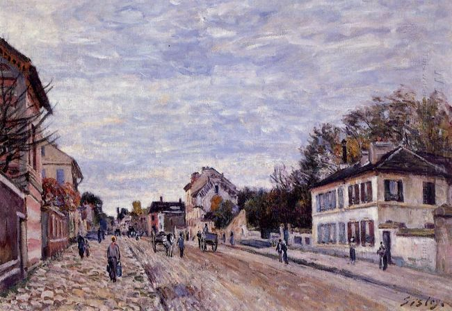 street scene in marly 1876