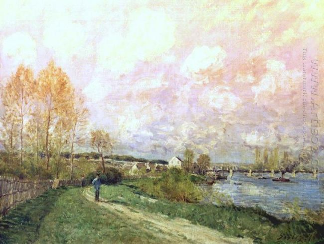 summer at bougival 1876