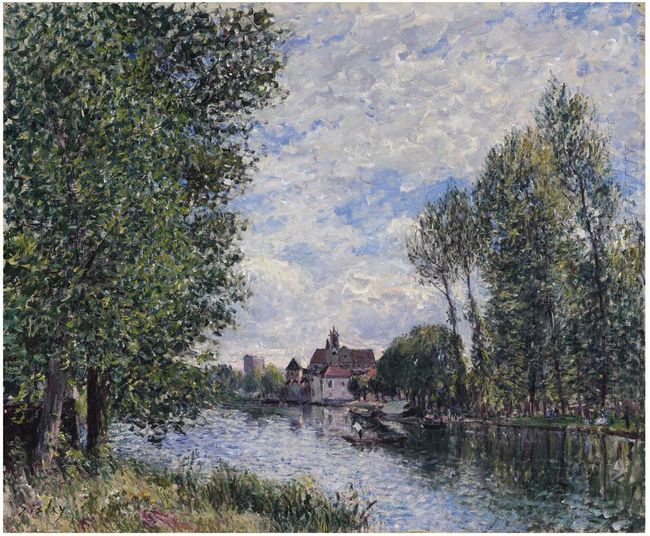 summer in moret