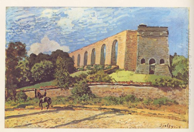 the aqueduct at marly 1874