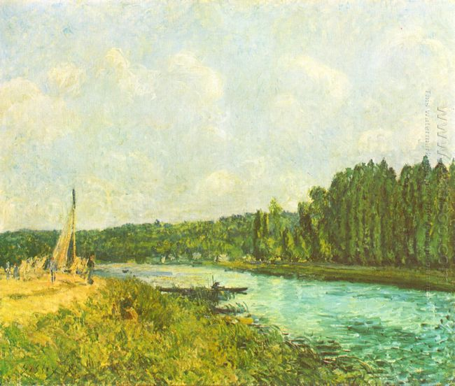 the banks of the oise 1878