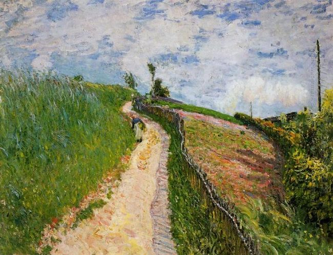 the hill path ville d avray 1879