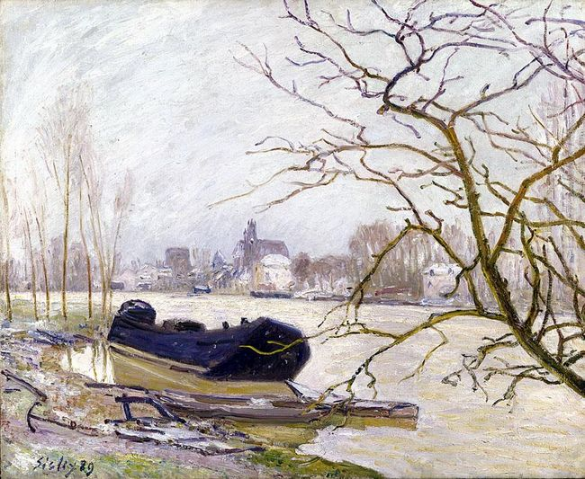 the loing at high water 1889