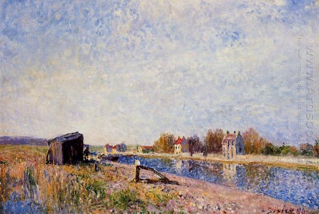 the loing at saint mammes 1884 1