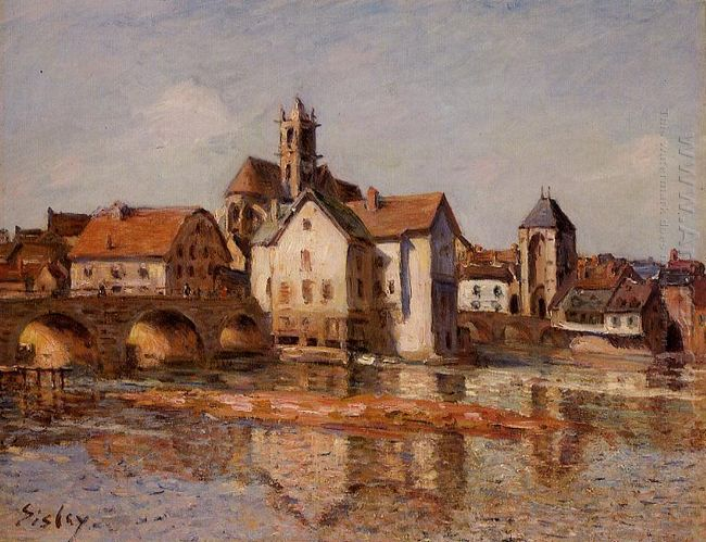 the moret bridge 1892