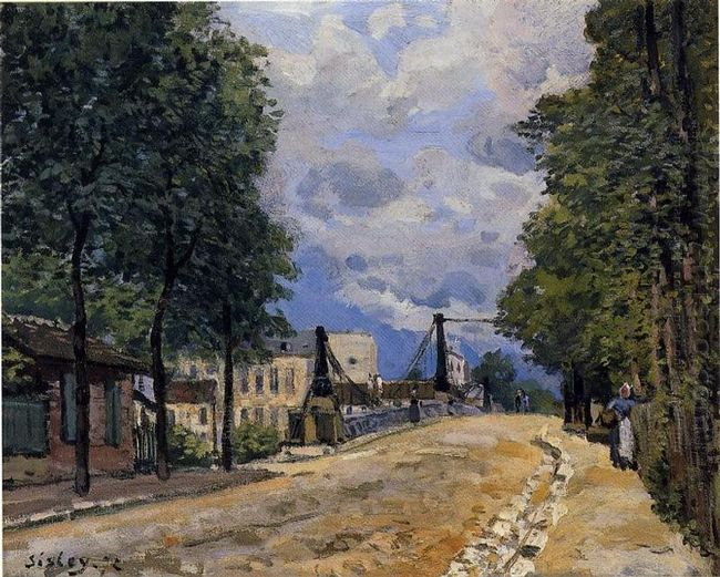 the road from gennevilliers 1872