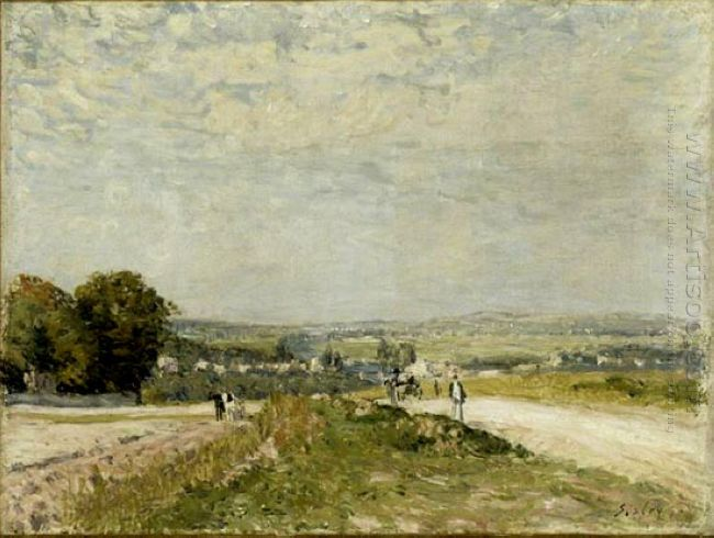 the road to louveciennes montbuisson 1875