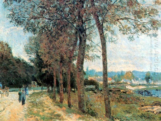 the seine at marly 1876