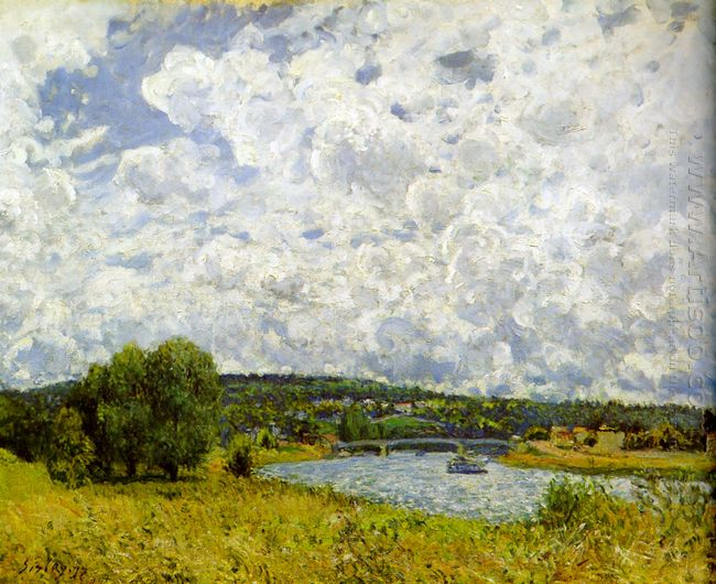 the seine at suresnes 1877