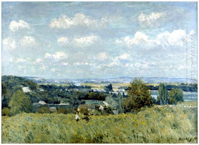 valley of the seine at saint cloud 1875