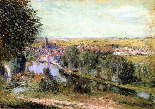 view of moret 1880