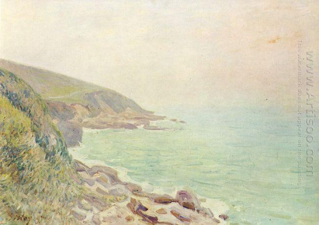 welsh coast in the fog 1887