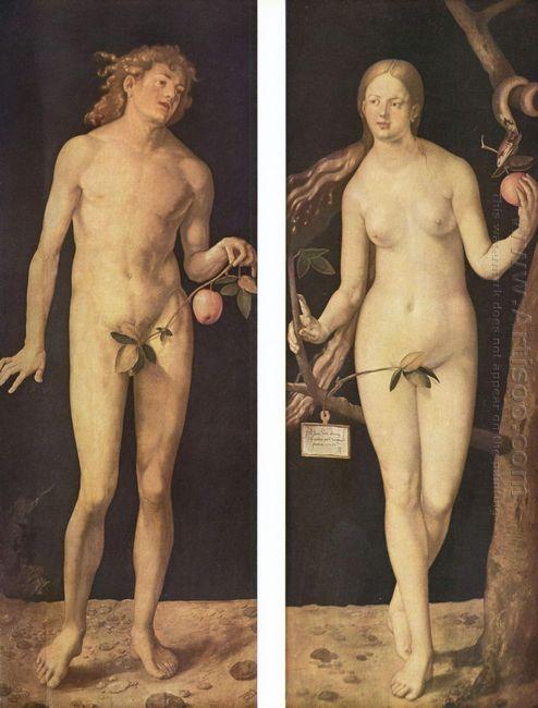 adam and eve 1507