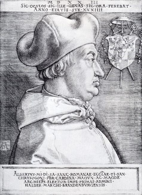 cardinal albrecht of brandenburg 1523