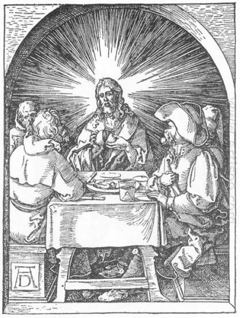 christ and the disciples at emmaus 1511