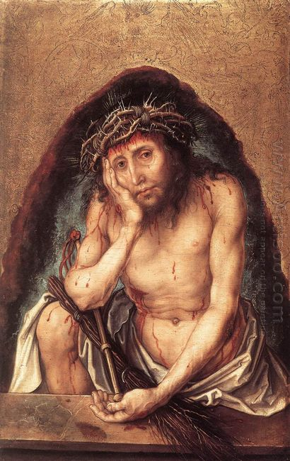 christ as the man of sorrows 1493