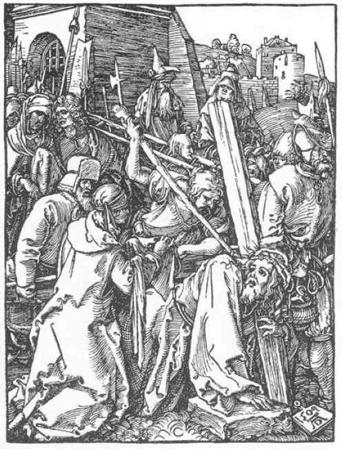 christ bearing the cross 1509