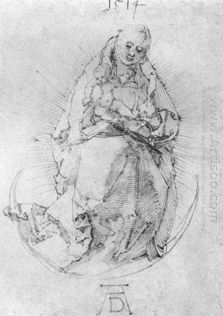 crescent madonna